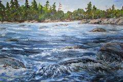 Winfield, Current Location, 36 x 60, oil on canvas, $2,950.00