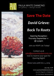 David Grieve-Back To Roots - Sept.11
