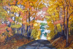 Walford-Autumn-Drive-30x40-oil-on-canvas-1700.00